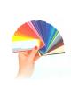 Designová skříňka paleta barev