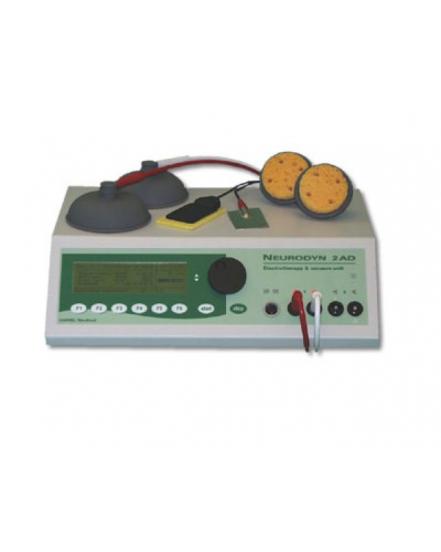 Universální elektroléčba dvoukanálová s vákuovými elektródami el. proudy