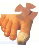 Křížová náplast s polštářkem