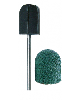 Čepičkové brusky zelené